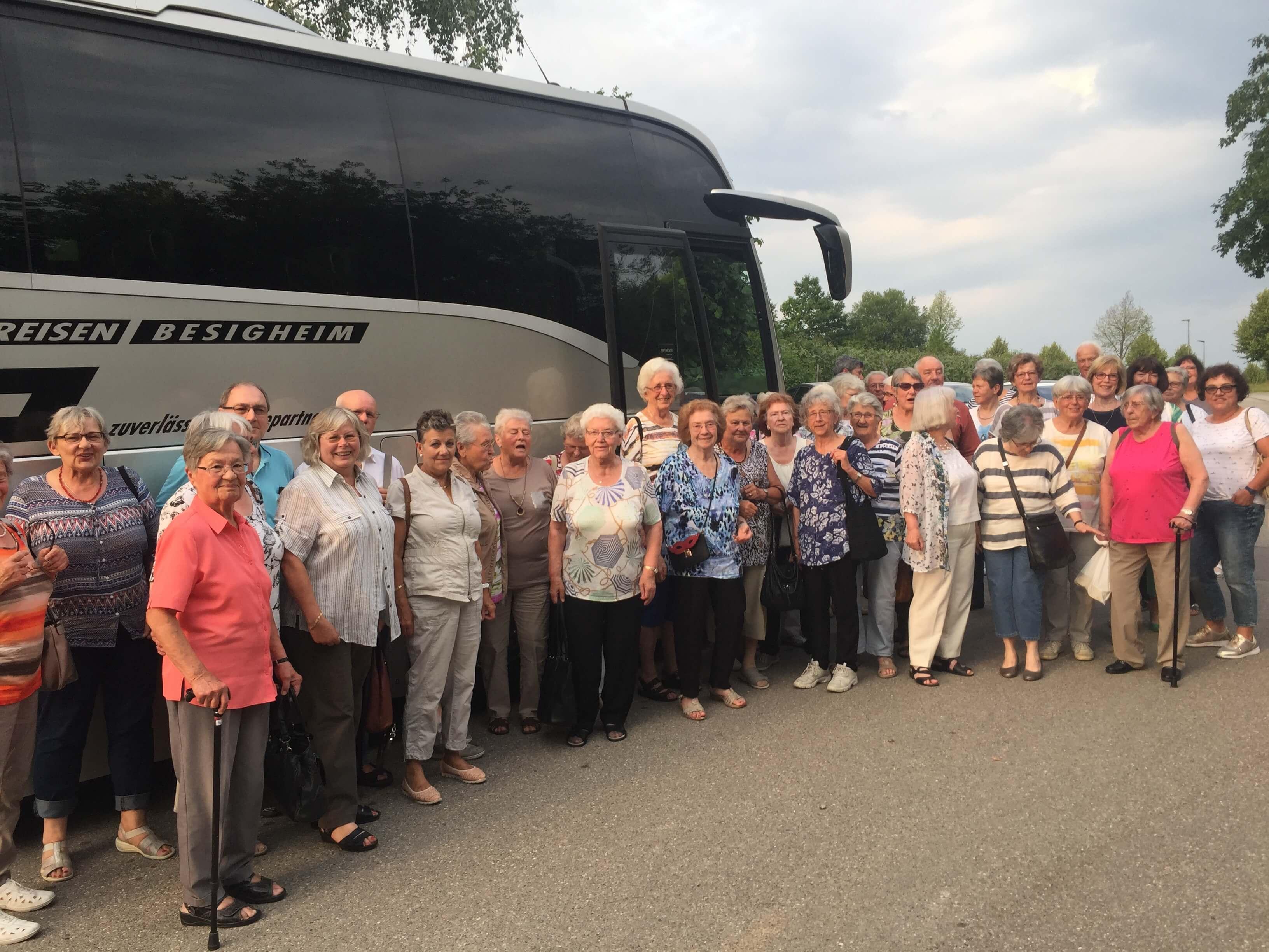 Ausflug zum Gasometer Pforzheim im Juni 2018
