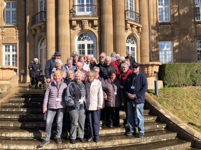 Ausflug zur Villa Reitzenstein in Stuttgart